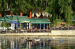 Lago Velingrad Bulgaria Kleptuza Immagine Stock Libera da Diritti