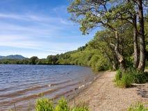 Lago Venachar fotografia stock libera da diritti