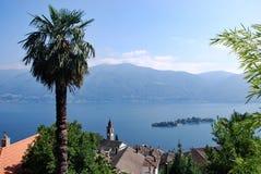Lago Verbano imagenes de archivo