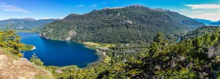 Lago Verde, Alerces国家公园,阿根廷 免版税库存图片