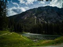 Lago verde Áustria imagens de stock