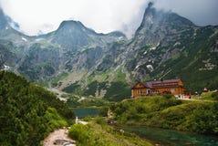Lago verde Fotografia de Stock Royalty Free