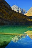 Lago verde Imagen de archivo