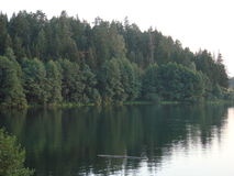 Lago verde Immagine Stock Libera da Diritti