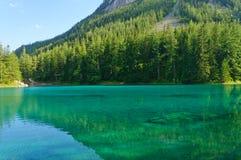 Lago verde (Grüner ve) en Bruck una MUR del der, Austria Imágenes de archivo libres de regalías
