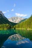 Lago verde (Grüner vede) in Bruck una MUR del der, Austria Fotografia Stock Libera da Diritti