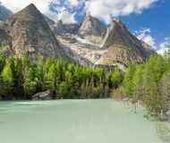 Lago Verde - Green Lake, Royalty Free Stock Photo