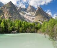 Lago Verde - Green Lake, Royalty Free Stock Photo