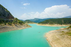 Lago verde Imotski Croacia Fotografía de archivo libre de regalías