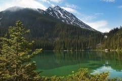 Lago verde smeraldo Immagini Stock Libere da Diritti