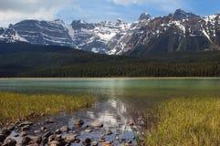 Lago verde smeraldo, Canada Fotografie Stock Libere da Diritti