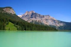 Lago verde smeraldo, Canada immagine stock