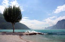 Lago vicino abbandonato relaxation Fotografia Stock