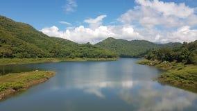 Lago victoria en Sri Lanka imagen de archivo libre de regalías