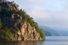 Lago Vidraru fotografia de stock