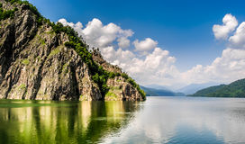 Lago Vidraru Immagini Stock Libere da Diritti