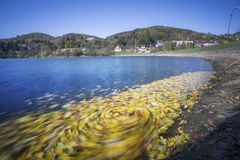 Lago Vindsachta Fotografie Stock