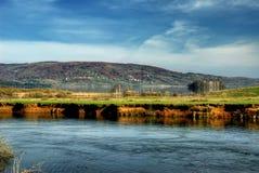 Lago Vlasina imagen de archivo
