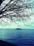 Lago Vokcanic Fotografia Stock