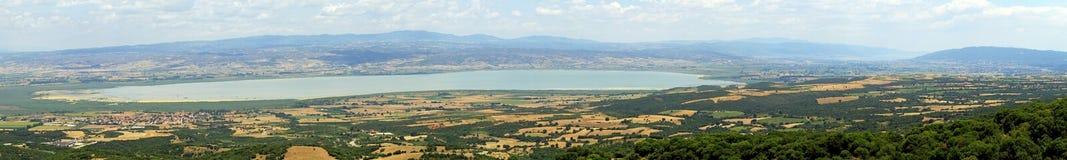 Lago Volvi Grécia Foto de Stock