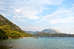 Lago Vouliagmeni Fotografia de Stock