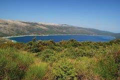Lago Vrana foto de archivo libre de regalías