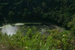 Lago vulcânico Imagem de Stock Royalty Free
