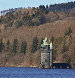 Lago Vyrnwy - Powys - País de Gales - Reino Unido Fotos de archivo