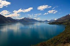 Lago Wakatipu Fotografie Stock Libere da Diritti