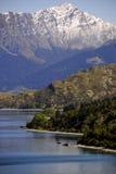 Lago Wakatipu fotografía de archivo libre de regalías