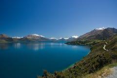 Lago Wakatipu Foto de archivo