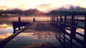 Lago Wakatipu Immagini Stock
