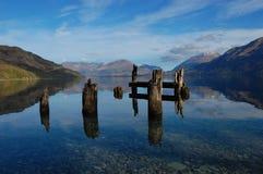 Lago Wakatipu Fotografia de Stock Royalty Free