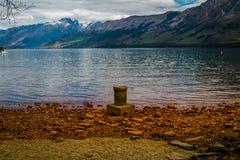 Lago Wakatipu Fotografia Stock