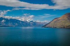 Lago Wakatipu Immagine Stock