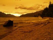 Lago Wakatipu Foto de Stock