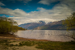 Lago Wakatipu, Glenorchy Immagini Stock Libere da Diritti