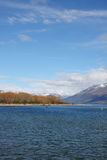 Lago Wakatipu a Glenorchy Nuova Zelanda Fotografia Stock