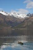Lago Wakatipu Nova Zelândia Imagem de Stock