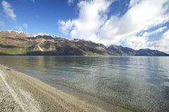 Lago Wakatipu Nova Zelândia Fotografia de Stock Royalty Free