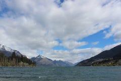 Lago Wakatipu, Nueva Zelanda Queenstown fotos de archivo libres de regalías