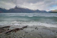 Lago Wakatipu Nueva Zelandia Foto de archivo libre de regalías