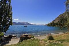 Lago Wakatipu, Queenstown Imagem de Stock Royalty Free
