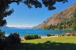 Lago Wakatipu, Queenstown Fotos de Stock Royalty Free