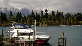 Lago Wakatipu queenstown Imagenes de archivo
