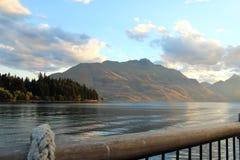 Lago Wakatipu Queenstown, Nueva Zelanda Imagen de archivo libre de regalías