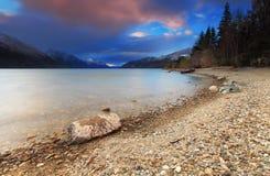 Lago Wakatipu, Queenstown, Nueva Zelanda Fotos de archivo libres de regalías