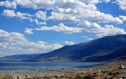 Lago walker nel Nevada fotografie stock libere da diritti