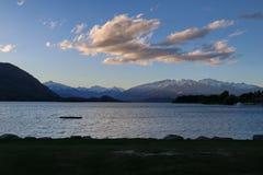 Lago Wanaka Fotografia Stock Libera da Diritti
