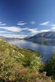 Lago Wanaka fotografia de stock